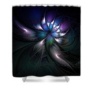 Enigma Shower Curtain by Amanda Moore