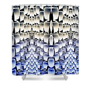 Lost In The Matrix Shower Curtain