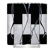 Enigmatic 2 Shower Curtain