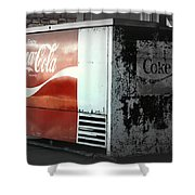 Enjoy Coca Cola  Shower Curtain
