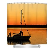 Enjoy The Moment 02 Shower Curtain