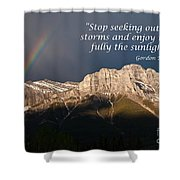 Enjoy The Sunlight Shower Curtain