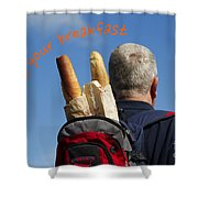 Enjoy Your Breakfast Shower Curtain