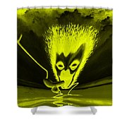 Enlightened Encounter Shower Curtain