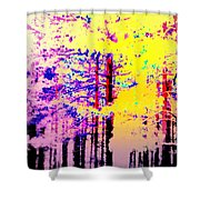 Enlightened Woods Are Here Again Ready To Surprise You  Shower Curtain