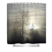 Fog Of Enlightenment Shower Curtain