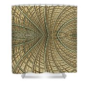 Enmeshed Shower Curtain