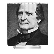 Enoch Cobb Wines (1806-1879) Shower Curtain