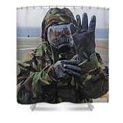 Ensign Dons A Lightweight Integrated Shower Curtain