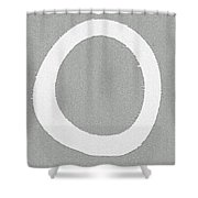 Enso 01 Shower Curtain