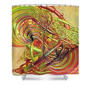 Entanglement Of Life Shower Curtain