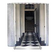 Enter The Light Shower Curtain