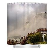 Enter The Mist Shower Curtain