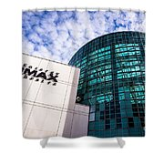 Entergy Imax Theatre In New Orleans Shower Curtain