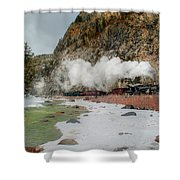 Entering Cascade Canyon Shower Curtain