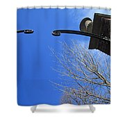 Going To Dumbarton House Shower Curtain by Cora Wandel