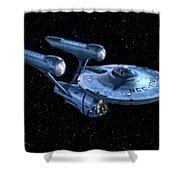 Enterprise Shower Curtain