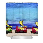 Three's Fun Shower Curtain
