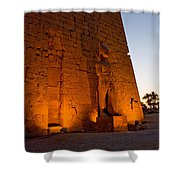 Entrance At Night Shower Curtain