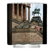 Entrance Old National Gallery Berlin Shower Curtain