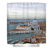 Entrance To Grand Canal Venice Shower Curtain