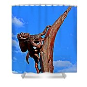 Entrance To Mesa Verde Shower Curtain