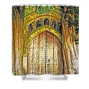 Entrance To Middle Earth Shower Curtain