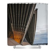 Entrance To Opera House In Sydney Shower Curtain