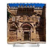 Entrance To The 10th Century Mezquita Shower Curtain