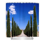 Entrance To Villa Tuscany - Italy Shower Curtain
