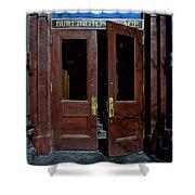 Entry - Burlington Place - Omaha Shower Curtain