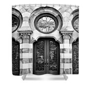 Entry Bw Charleston Sc Shower Curtain