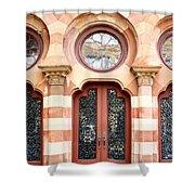 Entry Charleston Shower Curtain