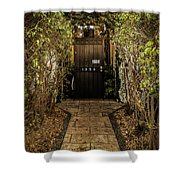 Entry To 1350 Shower Curtain