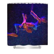 Entwines Shower Curtain