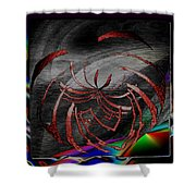 Enveloped 10 Shower Curtain
