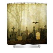 Enveloped By Fog Shower Curtain