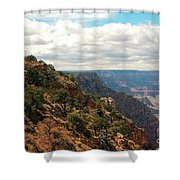 Environment Of The Canyon Shower Curtain