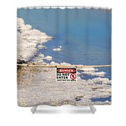 Environmental Disaster By Diana Sainz Shower Curtain