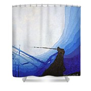 Epave Shower Curtain
