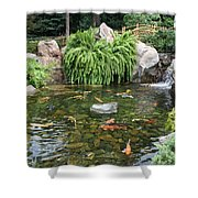 Epcot Koi's Shower Curtain