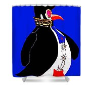 Epenguin Shower Curtain