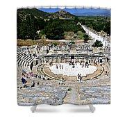 Theater Of Ephesus Shower Curtain