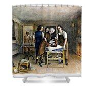 Ephraim Mcdowell, 1809 Shower Curtain