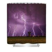 Epic Lightning Shower Curtain