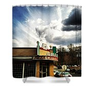 Epic Sky Shower Curtain