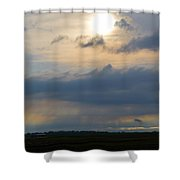 Epilogue Of A Storm Shower Curtain