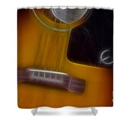Epiphone Acoustic-9429-fractal Shower Curtain