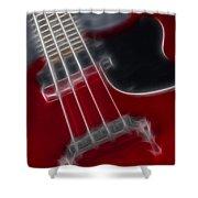 Epiphone Sg Bass-9241-fractal Shower Curtain