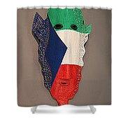 Equatorial Guinea Shower Curtain